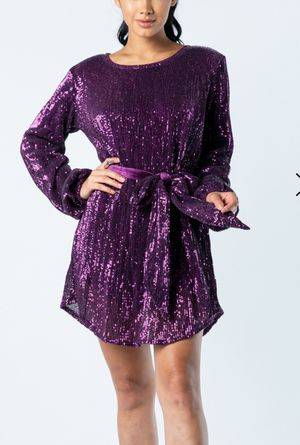 Long Sleeve Sequins Dress for Sale in Los Angeles, CA