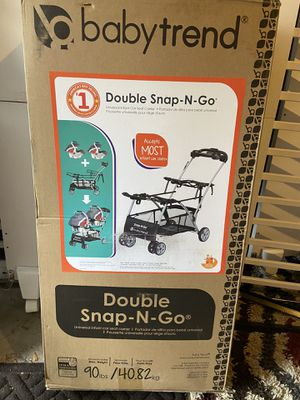 Double car seat stroller for Sale in Hilliard, OH