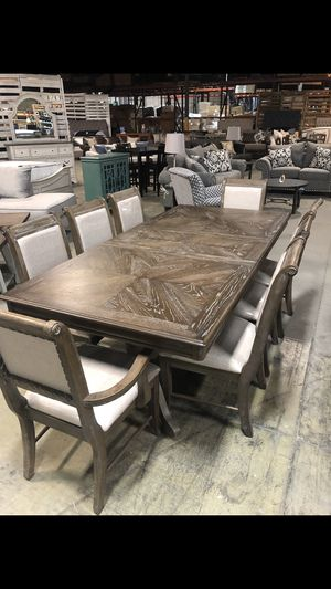 Brand New! (9 Piece ) Dining Set for Sale in La Vergne, TN