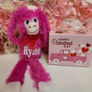 Personalized Valentines Day Monkey for Sale in Fairfield, CA