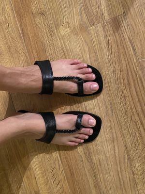 Hand made leather sandals - size 7 for Sale in Washington, DC