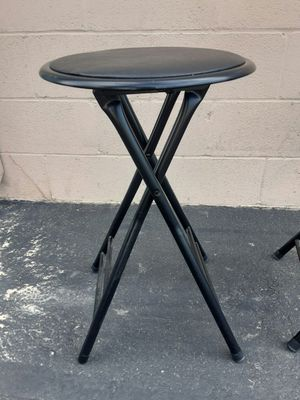 Black 2' stools for Sale in Henderson, NV