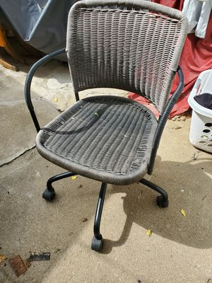 Wicker office chair for Sale in Wichita, KS