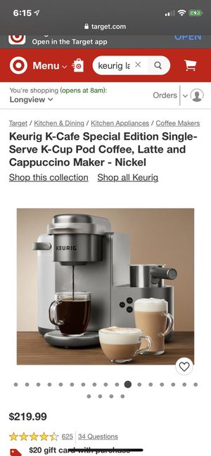 Keurig latte machine for Sale in Hallsville, TX