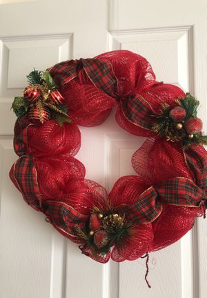 Christmas wreath for Sale in Neptune City, NJ