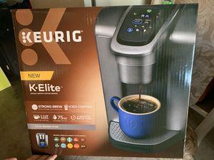 Keurig K-ELITE Coffee Maker for Sale in Long Beach, CA