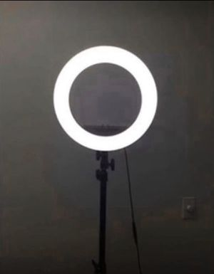"""13"""" Photography Dimmable Ring Light w/ Stand, Ball Head, Phone Holder for Sale in Chino, CA"""