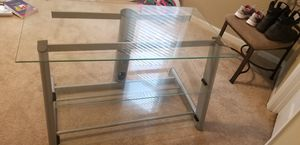 Glass TV stand for Sale in South Norfolk, VA