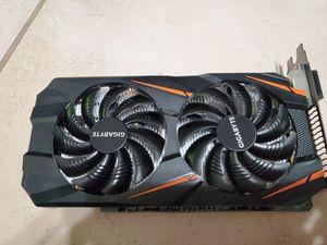 Gigabyte GeForce GTX 1060 Windforce OC 3GB GDDR5 Graphics Card for Sale in Sacramento, CA