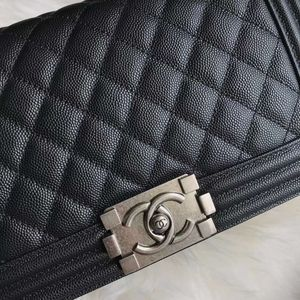 Brand new Chanel Le boy bag medium caviar leather for Sale in ROWLAND HGHTS, CA