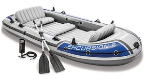 Intex Excursion 5 Boat Set. SKU: 68325EP for Sale in Naperville, IL
