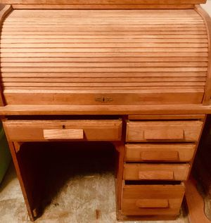 Primitive Roll-top Desk for Sale in Roanoke, VA