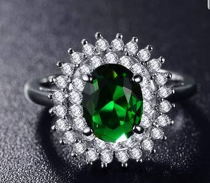 $10 new size 8 silver plated CZ ring for Sale in Valley Park, MO
