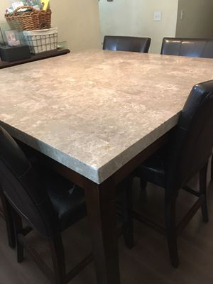 MARBLE TOP TABLE!! for Sale in Desert Hot Springs, CA