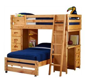 Bunk Bed 5 Pc. for Sale in Wheeling,  IL