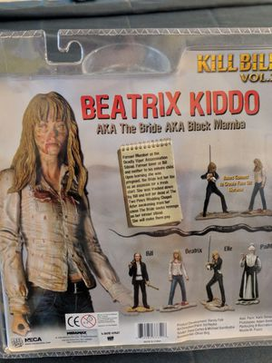 Kill bill collectable action figure with eyeball and sword for Sale in Orlando, FL