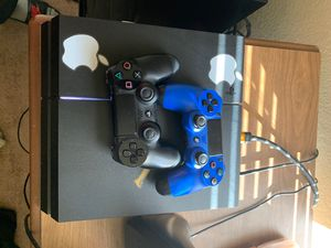 PS4 with 2 controller s for Sale in Beaumont, TX