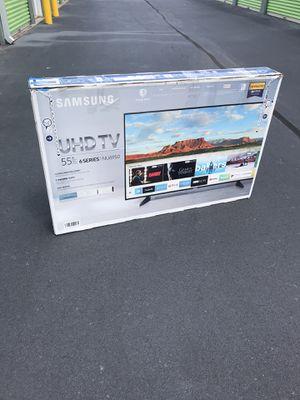 """""""55"""" In. Samsung 4K Smart TV W/Remote* -Firm Price- for Sale in Stockbridge, GA"""