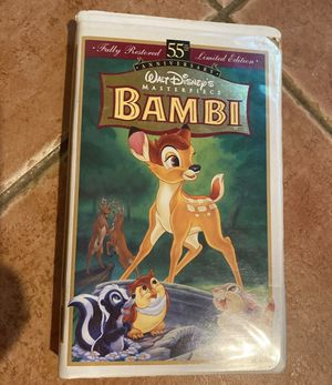 Pre-Owned Disney Bambi vhs for Sale in Port Jefferson Station, NY