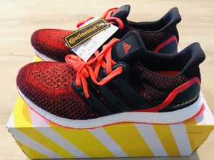 Adidas Ultraboost 2.0 'Core Black Solar Red' for Sale in Chicago, IL
