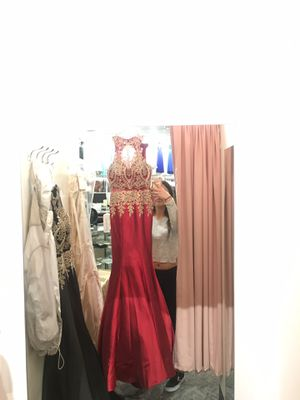 Red Prom Dress- Size Small for Sale in San Mateo, CA