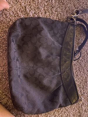 Coach Black Purse for Sale in Lacey, WA