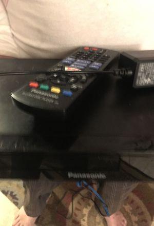 Panasonic Blu-ray DVD player w|remote for Sale in Woodbridge, CA