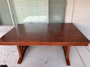 Solid dining table for Sale in Surprise, AZ