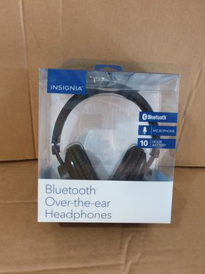 Insignia Bluetooth Over the Ear Bluetooth Headphone for Sale in Oak Lawn, IL