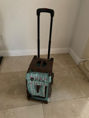 Zuca rolling book bag for Sale in Miami, FL