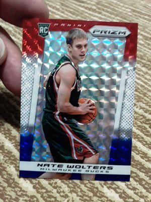 2013-14 Panini Prizm Red White & Blue Mosaic Nate Wolters #268 Rookie for Sale in Tamarac, FL