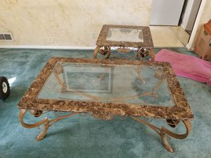 DROPPED PRICE Coffee table and end table for Sale in South Salt Lake, UT