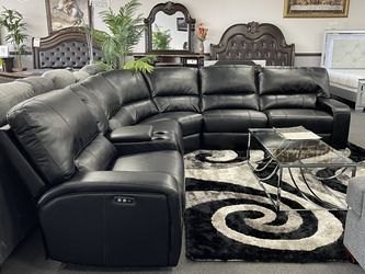 3PC Black Sofa Sectional for Sale in Fresno,  CA