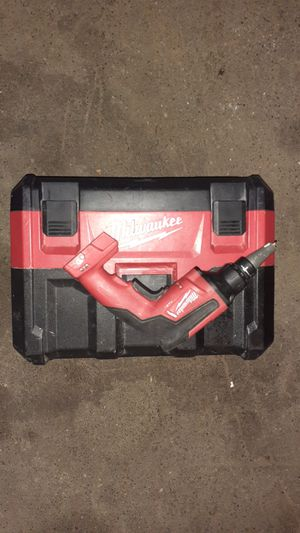 Milwaukee vaccam and drywall gun used for Sale in North Highlands, CA