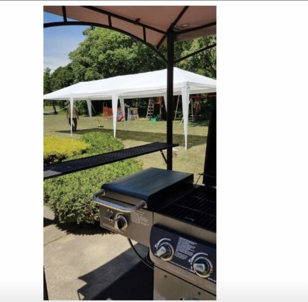 Gazebo Heavy Duty Tent Pavilion Canopy BBQ Get Together Shade Party Weddings