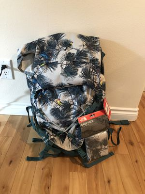 The Northface 55L Backpacking pack- NEW for Sale in Seattle, WA