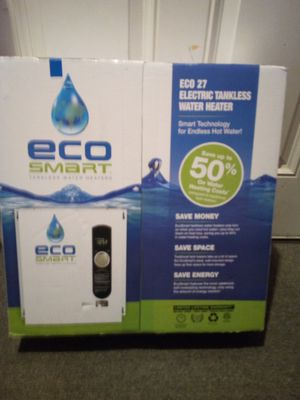 ECO 27 ELECTRIC TANKLESS WATER HEATER Smart Technology for Sale in Portland, OR