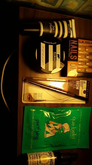 Makeup nails face mask and blowout hair spray bundle for Sale in Detroit, MI