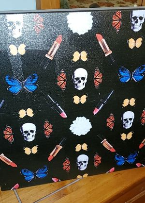 Skulls makeup wall portrait for Sale in Keizer, OR