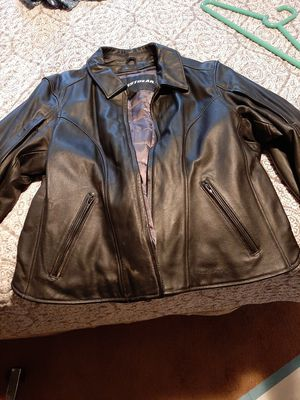 Women's leather riding jacket for Sale in Redmond, WA