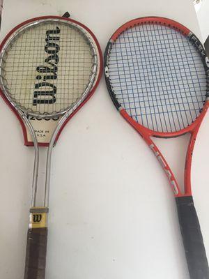 Head Flexpoint Radical , Wilson T2000 Tennis Raquets for Sale in Benton City, WA