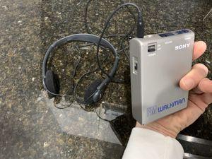 Sony FM Walkman Radio with Sony Headphones for Sale in Dublin, OH