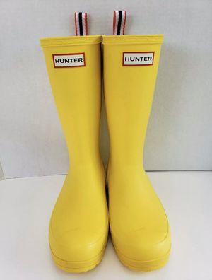Hunter Original Tall Matte Yellow Rain Boots Size 10 for Sale in Martinez, CA