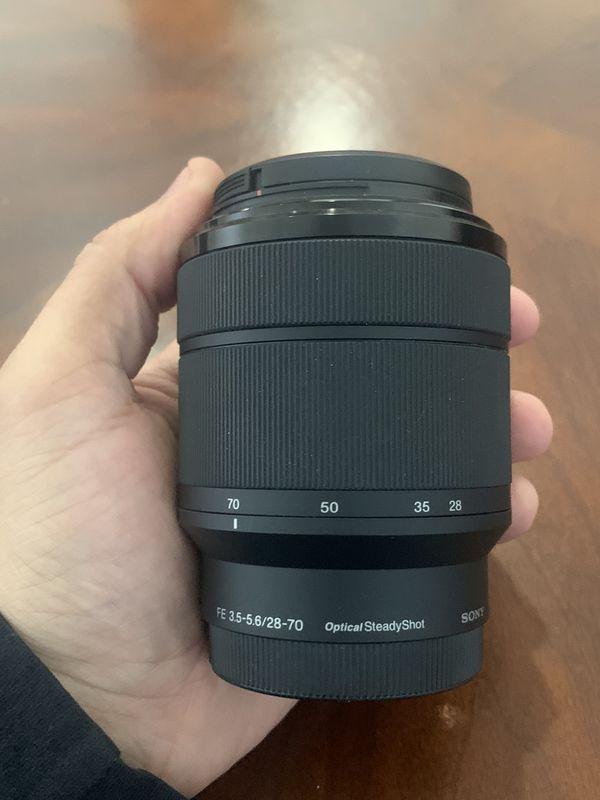 Sony 28-70mm f3.5-5.6 E Mount Lens