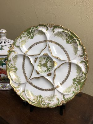 Vintage Limoges Theodore Haviland Oyster Plate for Sale in Naples, FL