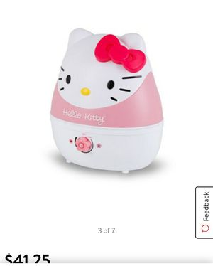 Crane Adorable 1 Gallon Ultrasonic Cool Mist Humidifier with 24 Hour Run Time - Hello Kitty - EE-4109 for Sale in Four Corners, FL