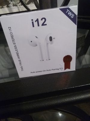 i12 Bluetooth Headphones for Sale in Petersburg, VA