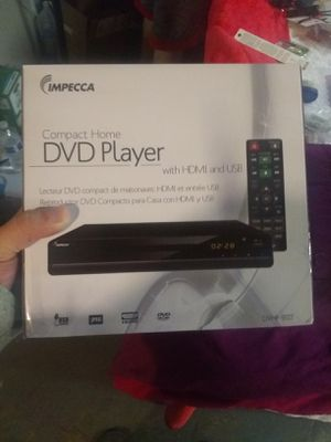 Impecca dvd player for Sale in Philadelphia, PA