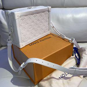 Louis Vuitton Virgil Abloh White soft trunk for Sale in Barrington, IL