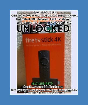 New Unlocked Amazon fire TV Stick for Sale in Hoboken, NY